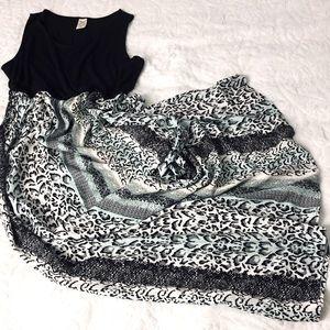 Faded Glory Women's  Skirt 100% Rayon  Dress XXL